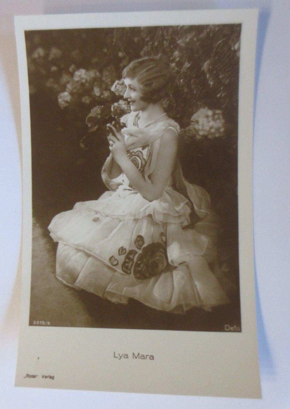 Schauspieler-Lya-Mara-Stummfilm-lettisch-polnischer-Herkunft-1925-64690