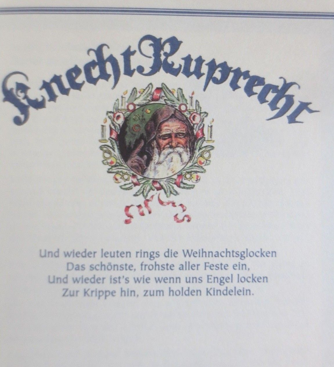 Book With 64 Pages Knecht Ruprecht Recipes Stories And